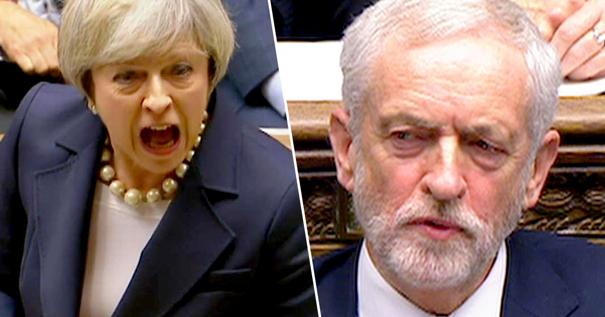 Jeremy Corbyn Accused Of Calling Theresa May A 'Stupid Woman'
