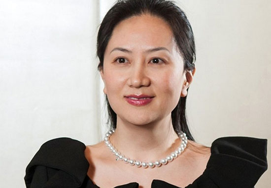 Meng Wanzhou chinese princess arrested