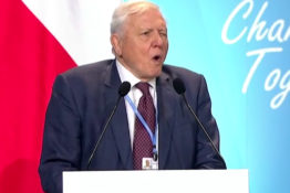 David Attenborough addresses UN