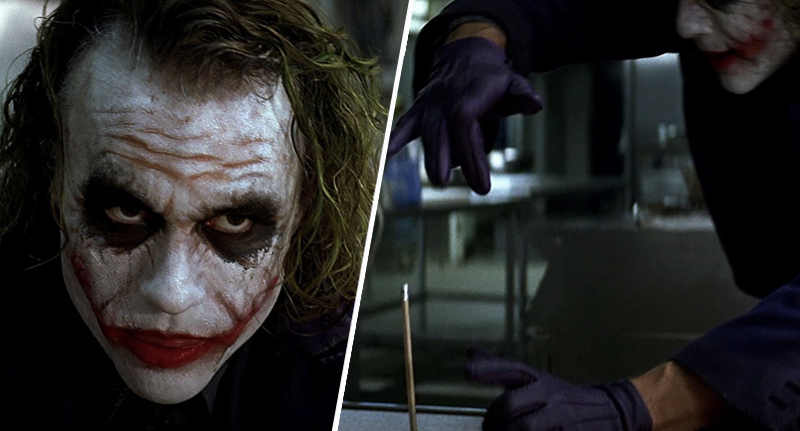 Truth Behind Joker S Pencil Trick In The Dark Knight Has