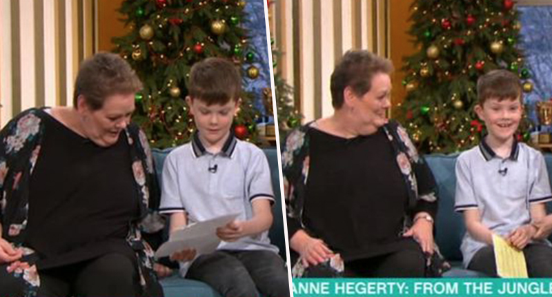 Anne Hegerty on This Morning