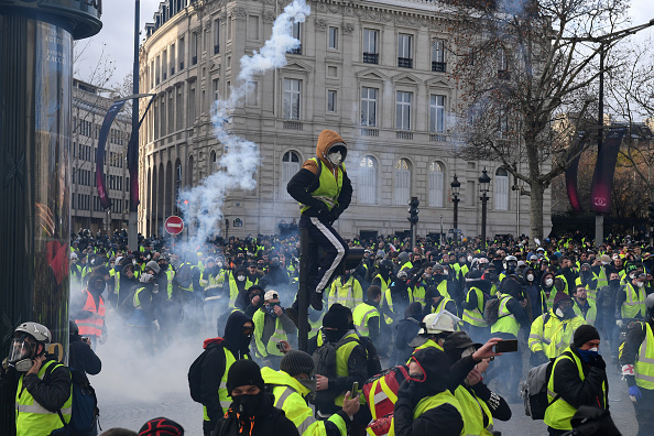 paris protest