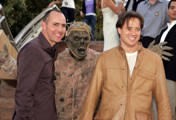 the revenge of the mummy premiere brendan fraser