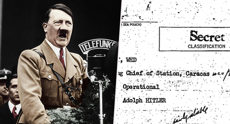 CIA papers Hitler