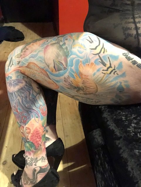 Woman believes she's the most tattooed doctor