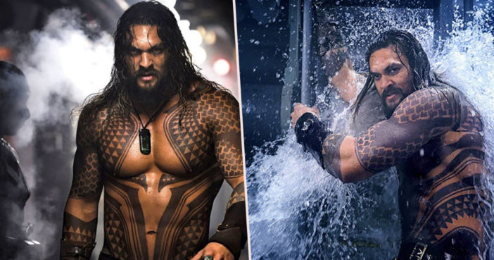 Aquaman successful because women fancy Jason Momoa.