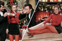 Miley Cyrus releases feminist Santa Baby.