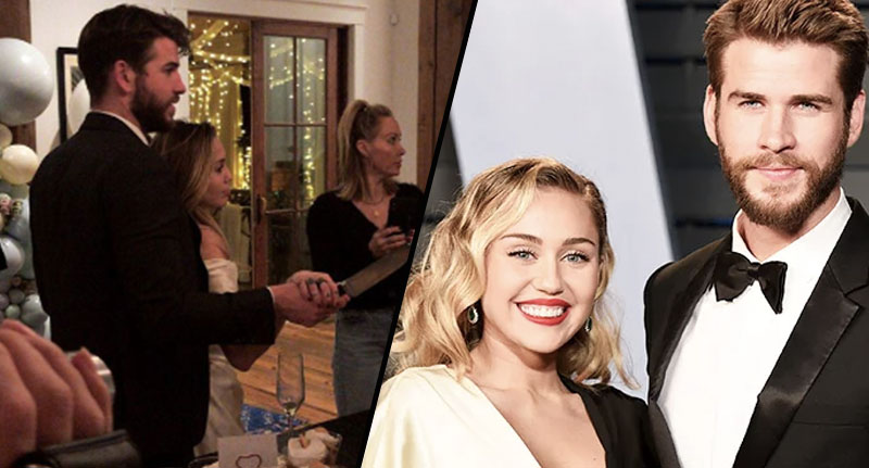 Miley and Liam allegedly get married