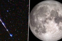 Winter solstice will see full moon and meteor shower.