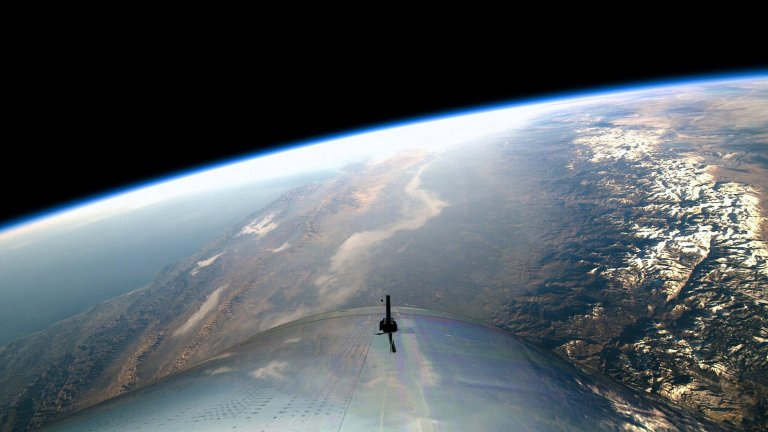 Space as seen from Virgin Galactic!