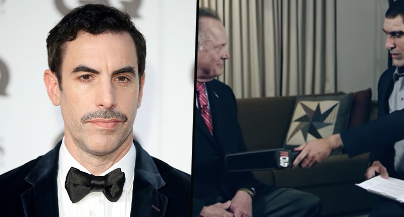 Sacha Baron Cohen sued by judge