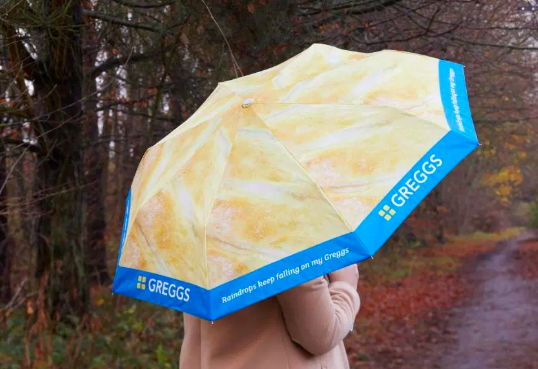Greggs are now selling stocking fillers.