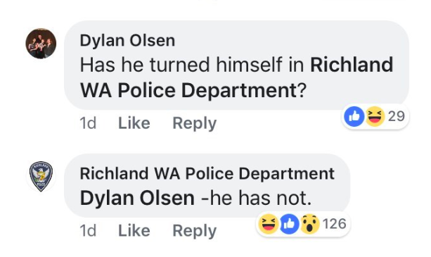 Guy responds to his own wanted post