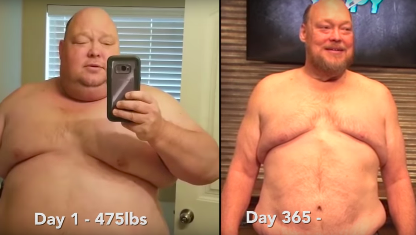 14 stone weight loss transformation