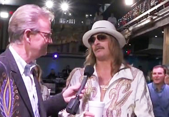 Kid Rock insulting Joy Behar