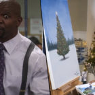 You Can Live Stream Terry Crews Painting In Front Of A Crackling Fireplace