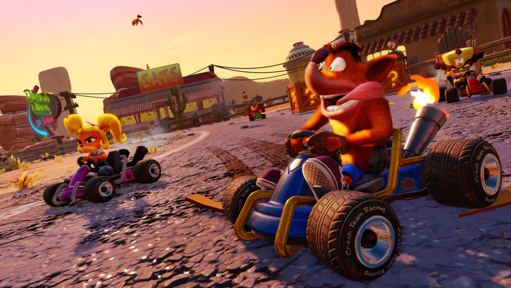Crash Team Racing Nitro Fueled remaster