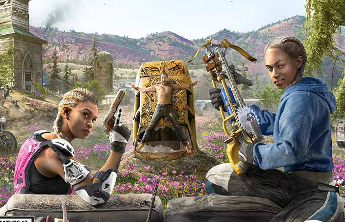 Far Cry New Dawn Finally Lets The Dog Ride In Your Car Unilad