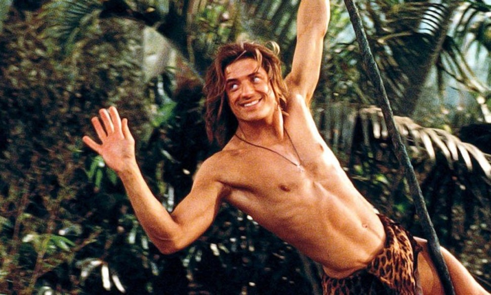 george of the jungle brendan fraser