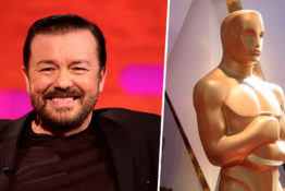 Ricky Gervais wants to host the Oscars