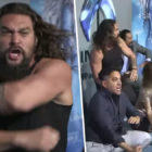 Jason Momoa Did The Haka With His Kids At Aquaman Premiere