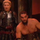 Jason Momoa Revived Khal Drogo For SNL Sketch And It Was Hilarious