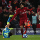 Incredible Moment Liverpool Fan Describes Mo Salah Goal To Blind Cousin