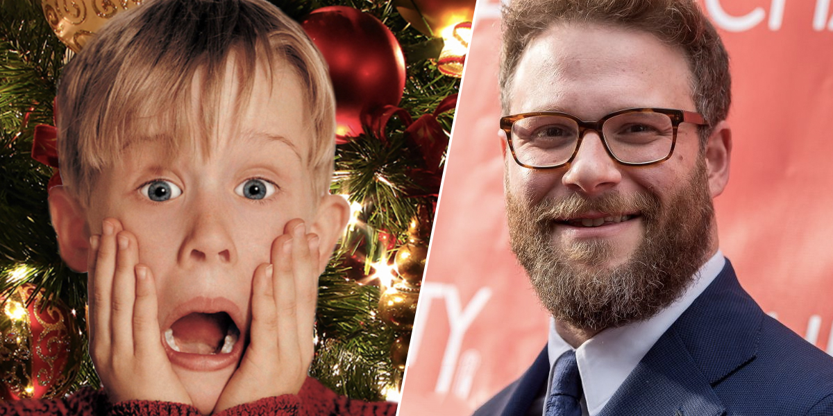 Home Alone and Seth Rogen