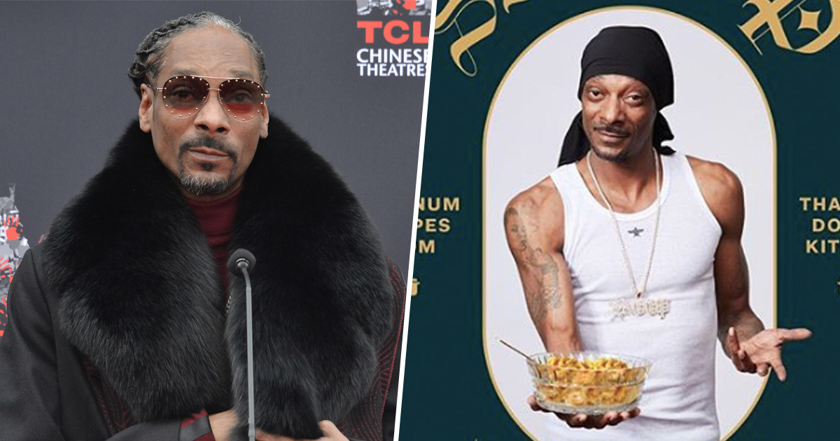 Snoop Dogg Christmas.Snoop Dogg Releases From Crook To Cook Recipe Book For