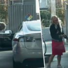 Footage Of Woman Trying To Fill Electric Car With Gas Goes Viral