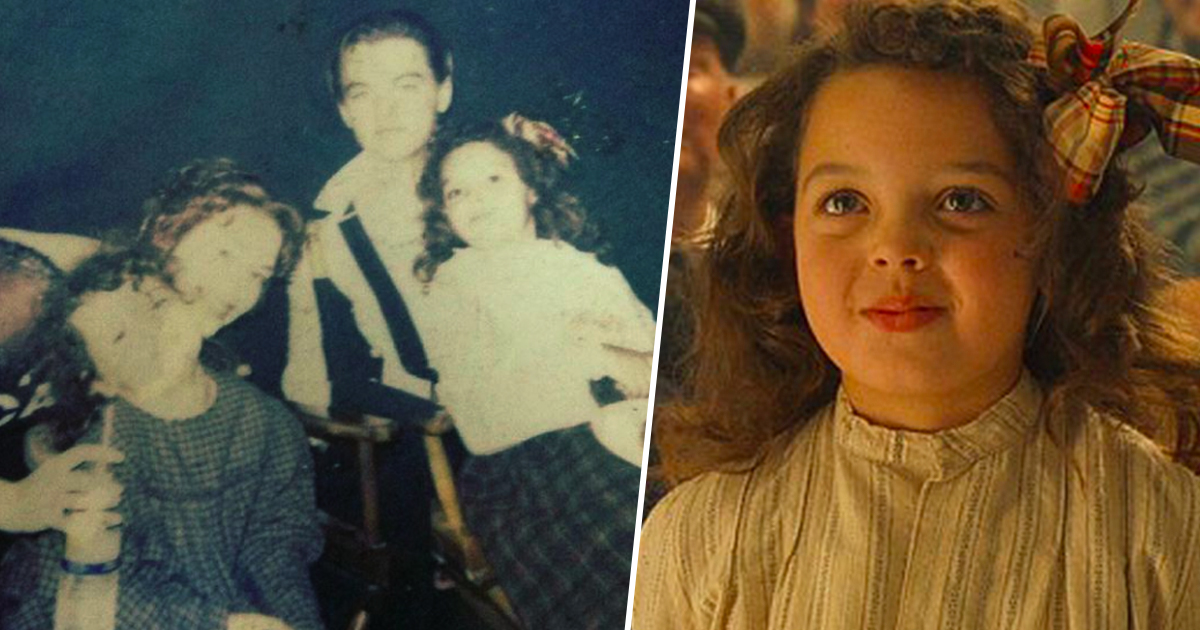 cora cartmell in titanic and on set
