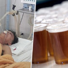 Man Gets 15 Beers Pumped Into Stomach To Stop Him Dying