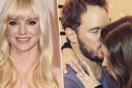 Chris Pratt texted Anna Faris after proposing.