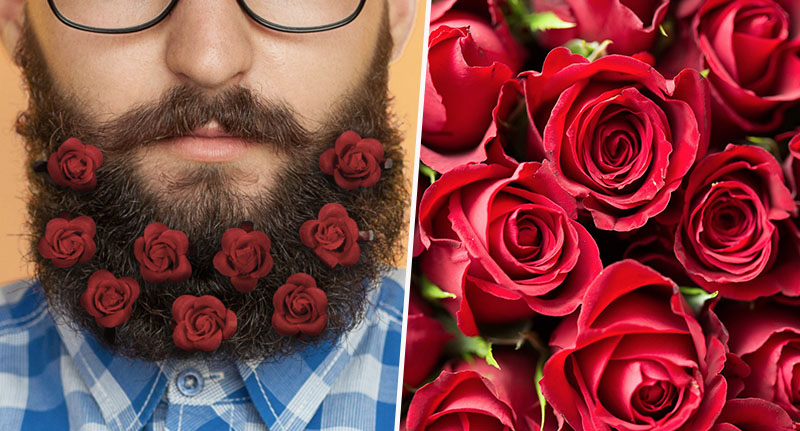 Beard Bouquet for valentine's day