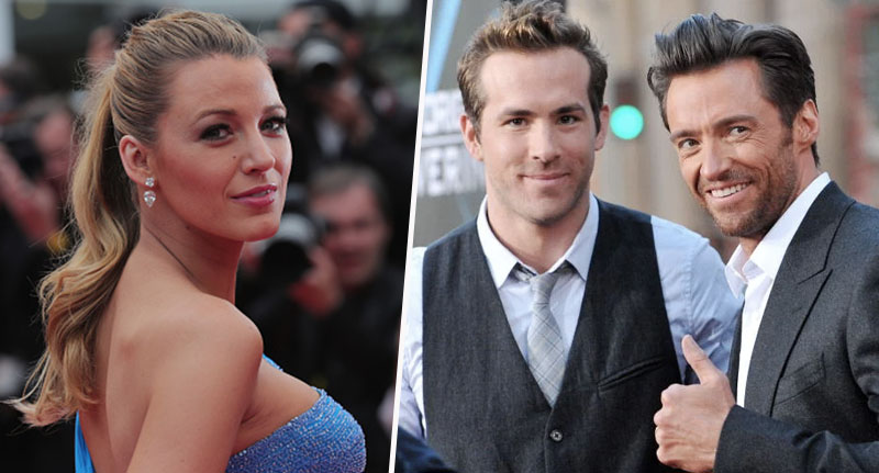 Blake Lively Ryan Reynolds Female Hugh Jackman