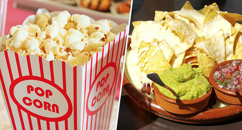 Brits Consume Thousands Of Calories At Cinema