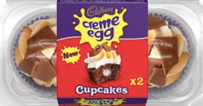 You Can Now Buy Cadbury Creme Egg Cupcakes
