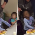 Daycare Worker Filmed Pulling Child's Hair To Force Her To Eat