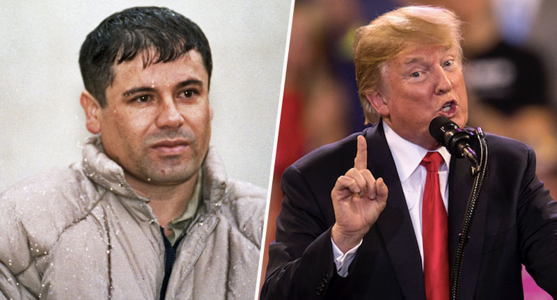 El Chapo and Trump trial