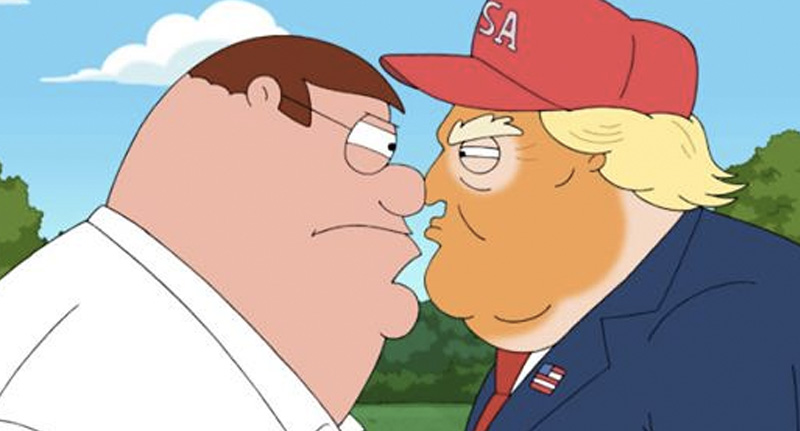 Family Guy Trump