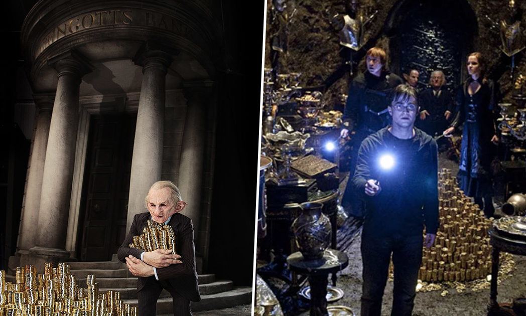 gringotts at warner bros harry potter studio tour