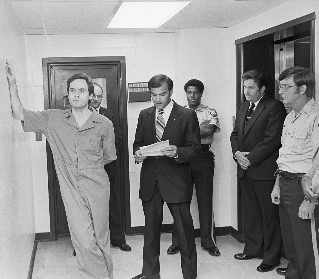 Ted Bundy in police custody