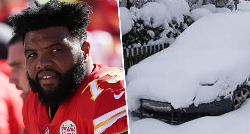 Homeless Man Stops To Help NFL Player Dig Car Out Of Snow, Gets Incredible Present Back