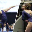 Gymnast's Mind-Bending Splits Routine Inspired By Michael Jackson Breaks The Internet