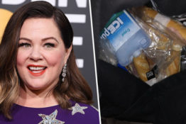 Melissa McCarthy smuggles sandwiches into golden globes