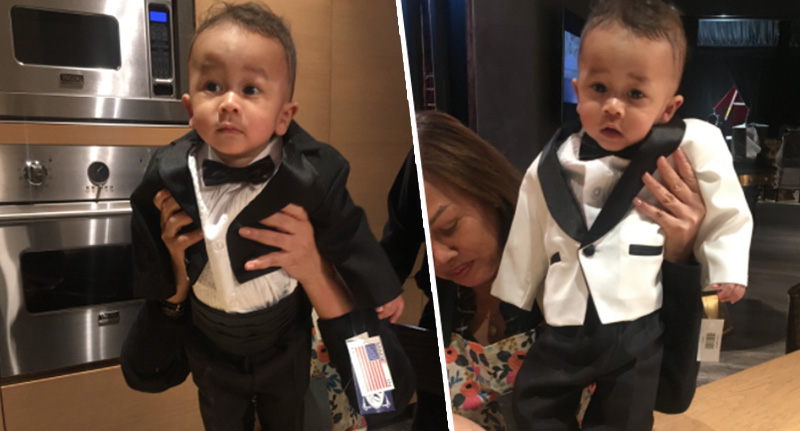 John Legend Chrissy Teigen son
