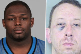NFL Player breaks man's face 1