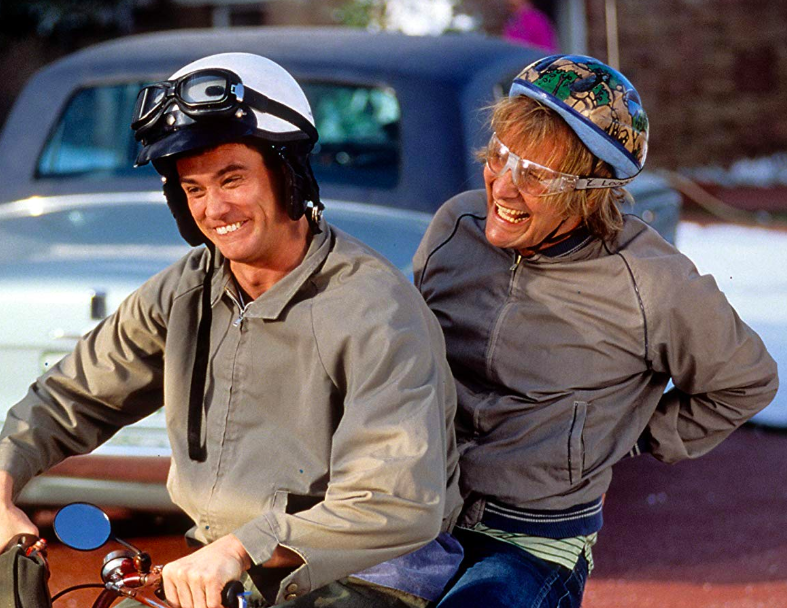 dumb and dumber jim carrey jeff daniels new line cinema