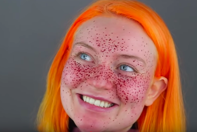 Beauty Blogger Gave Herself Henna Freckles It Went Disastrously Wrong