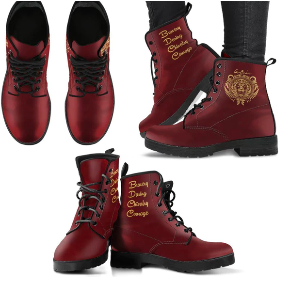 harry potter combat boots